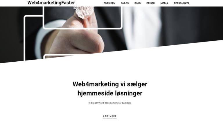 Web4marketing system og kommunikations løsninger